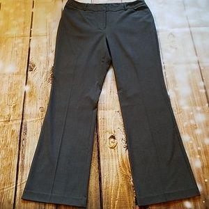 EUC Womens Dark Grey Worthington Slacks Size 12
